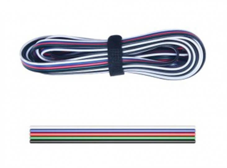 5 core 20 AWG | 5 x .52mm