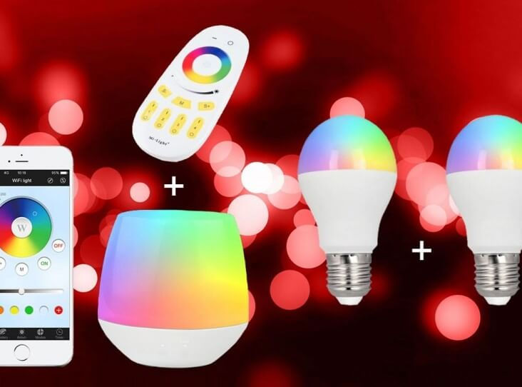 MI-LIGHT WIFI RGBWW 2 BULB KIT