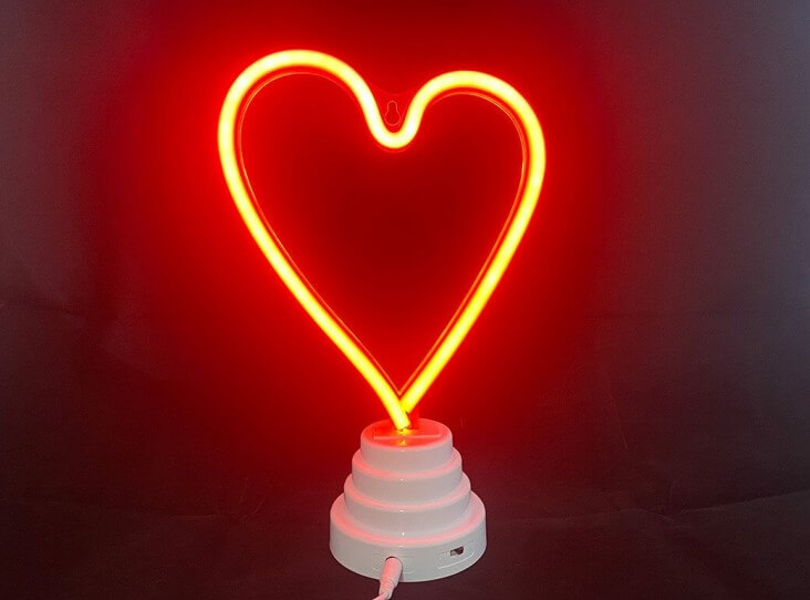 Neon Night Light | Heart