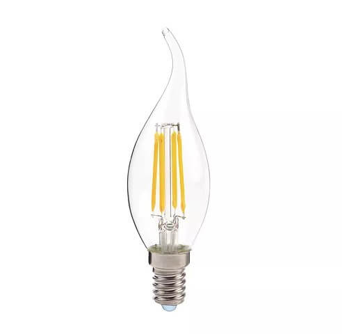 C35 Candle Bulb | 4W E14 Dimmable Flame Tip
